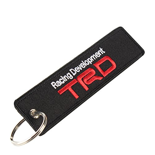 golden tai keychain Double Sided embroidery Moto Loot KeyChain for Motorcycles, Scooters, Cars and Gifts (TRD)