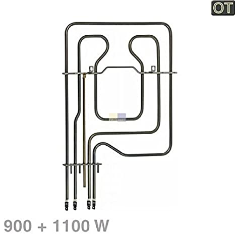 Heizelement Oberhitze 900//1100W 220V Backofenheizung für die Oberhitze