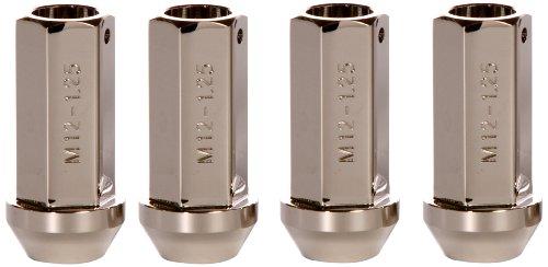 Buddy Club BC01-LN12150RN-C Chrome 12mm x 1.50mm Racing Lug Nut - Pack of 4 Buddy Club Wheels