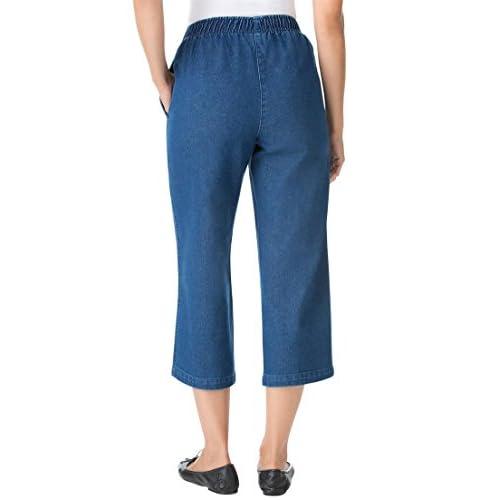 durable service Women's Plus Size Petite Jean Capris - mypicbooth.com