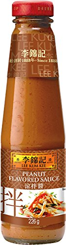 Lee Kum Kee Peanut Flavored Sauce, 8-Ounce Bottle (Pack of 4)