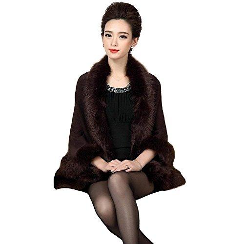 fashion Cardigan Automne HX Hiver Femme Felljacke 6OqccWaF