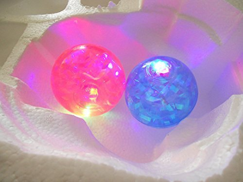 2 Light-Up Bouncing Novelty Balls in Assorted Colors]()