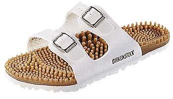 Birki's Super Noppy Sandals Noppys white Birko Flor Width