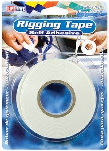 Incom 834-re3947 Rigging Tape Self-Adhesive 19 mmx32,9 m, White