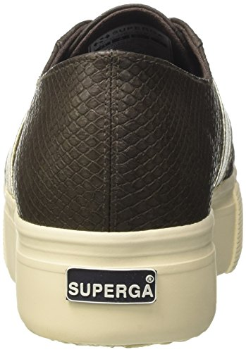 Marrone Sneaker Pusnakew Coffee Brown Donna 2790 Superga x0w4OCqP6