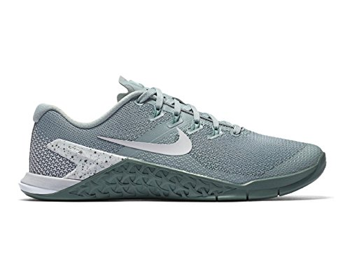 NIKE Women's Metcon 4 Training Shoe Light Pumice/Vast Grey/Clay Green/White Size 9 M US