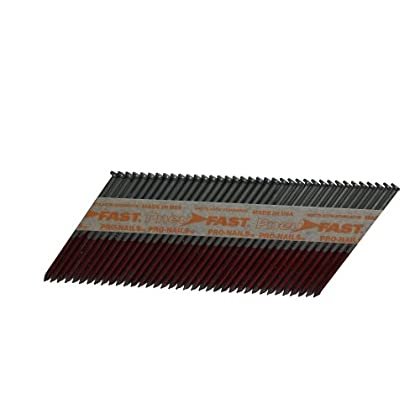 Image of Finish Nails Pneu-Fast SP6DX 2-by-0.120-Inch Clipped Head Nail for 30-33 Degree Nailers, 5000-Count