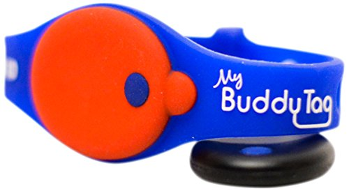 Price comparison product image My Buddy Tag with Silicone Wristband,  Blue