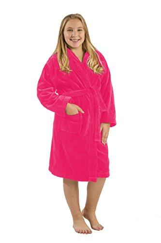 Terry Cloth Cotton Hooded Bathrobe