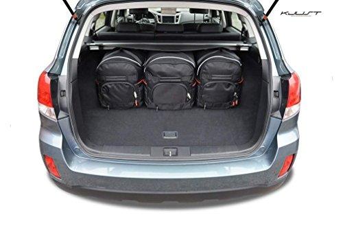 KJUST - CAR-BAGS AUTO TASCHEN MASSTASCHEN ROLLENTASCHEN SUBARU OUTBACK, IV, 2009-2015