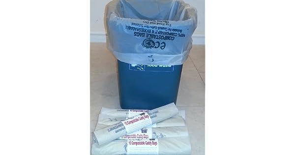 Amazon.com: 25 – 30 litros bolsas biodegradables para ...