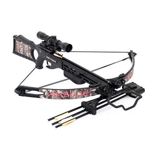 SA Sports Ambush Crossbow - Bow Crossbow 150lb For Fiber