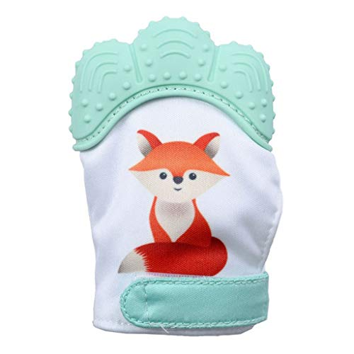 - Zohto Sport Sale 2019 Summer Baby Silicone Fox Mitts Teething Mitten Molars Glove Wrapper