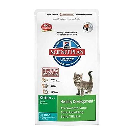 Hills Science Plan Kitten Gattini Cuccioli Healthy Development mangime Secco Gusto tonno kg. 2