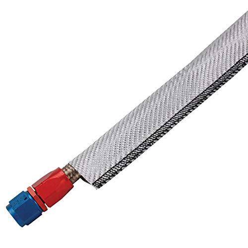 Design Engineering 010233 Ultra Sheath MA Lightweight Extreme Heat Protection for Hoses, Fuel Lines & Electrical Wiring, 1.25