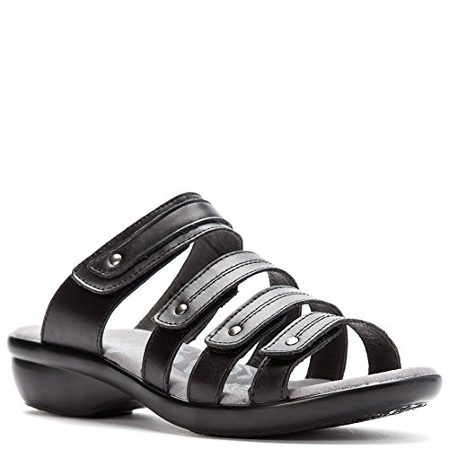 Propét Womens Aurora Slide Black