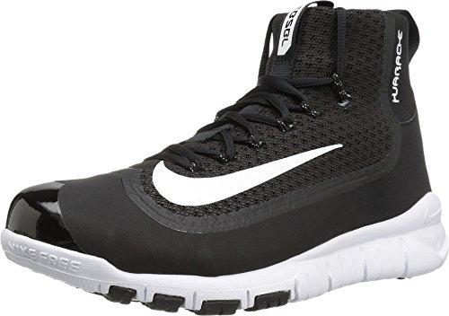 Nike Huarache 2KFilth Elite Pregame Black-White Men's Baseball Shoes 11.5 US