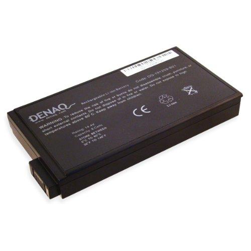 (DENAQ 8-Cell 5200mAh Li-Ion Laptop Battery for HP Business Notebook NC6000, NW8000, NX5000; Evo N1000, N160, N800; Presario 1500, 1700, 17XL, 2800, 900 )