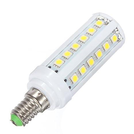E14 5W Blanco cálido 36 SMD5050 LED lámpara de maíz bombillas 110V: Amazon.es: Iluminación