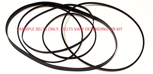 Complete Belt Kit w/ Idler tire for Nakamichi RX-202
