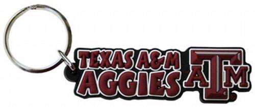 Jenkins Enterprises NCAA Texas A&M Aggies PVC Festive Keychain