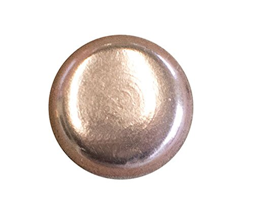 50 QTY: C.S.Osborne & Co. No. 6940-CP 1/2 - Copper Plated Nail - Flat Head/post : 1/2 head: 7/16 (mpn# 13720) C.S. Osborne & Co. 4336905274