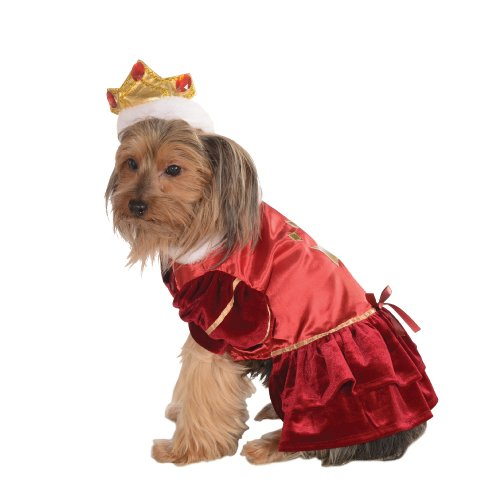 Rubie's Pet Costume, Medium, Red Queen