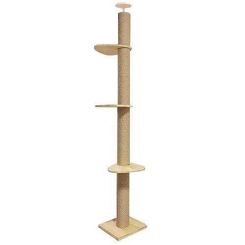 RAKU 木登りタワー シングル キャットタワー