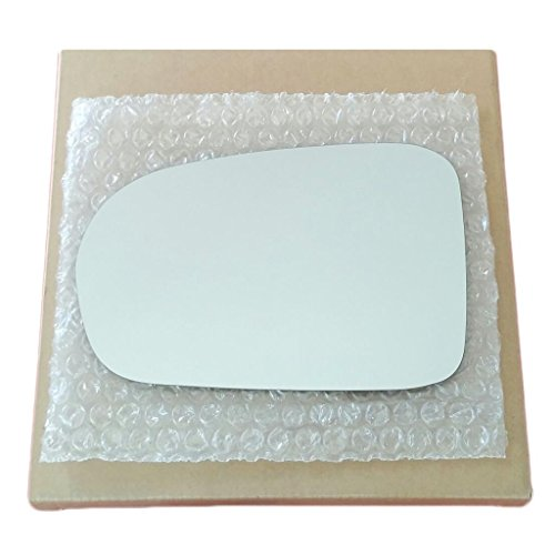 Mirror Glass and Adhesive 2001 - 2005 Honda Civic 4dr SEDAN Driver Left Side Replacement