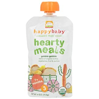 Organic Hearty Baby Meals by Happy Baby, Root Vegetables & Turkey with Quinoa