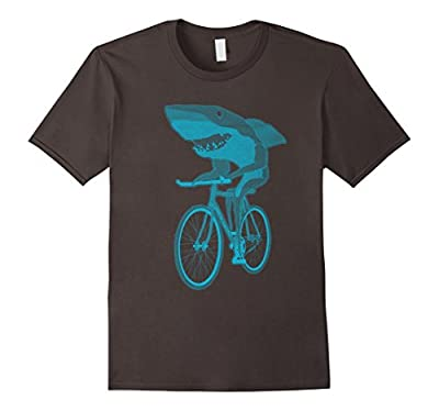 Shark on a Bicycle T Shirt