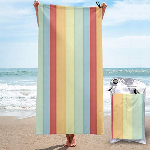 (WEIPING LF Pattern Wallpaper Quick Dry Towels Microfiber Soft for Sports Travel Beach Swim)