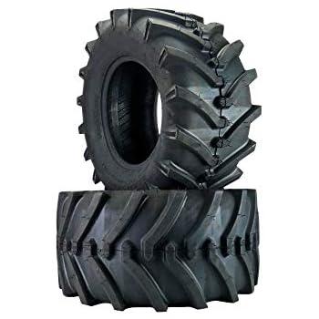 Set of 2 Lawn /& Garden Lawn Tractor Mower Tires 4 Ply ATW-041 24x12.00-12 ATV//UTV