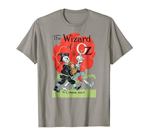 (Vintage Wizard of OZ TShirt-Dorothy Scarecrow Tin Man Shirt)