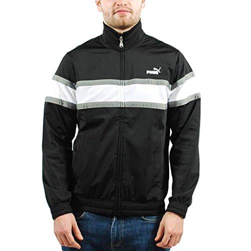 PUMA Apparel Men's Agile Track Jacket, Black, Small