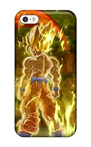 Areebah Nadwah Dagher's Shop 1745273K23228474 Iphone 5/5s Hard Back With Bumper Silicone Gel Tpu Case Cover Goku