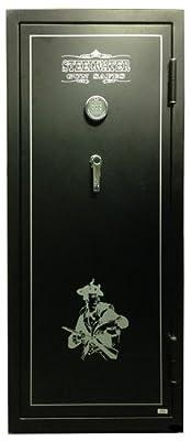 Steelwater Standard Duty 16 Long Gun Fire Protection for 45 Minutes AMEGS592216-BLK - best gun safe under 1000
