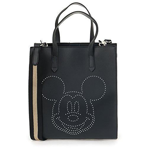 Sac fourre-tout à perforation en similicuir Disney Mickey Mouse de Ililily Disney