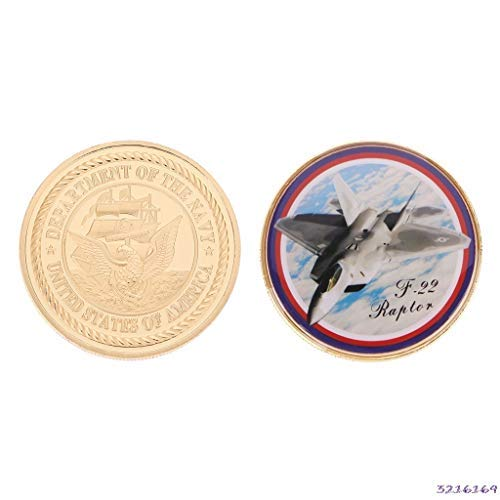 ZANAN -Tecco - United States Air Force F-22 Fighter Anniversary Coins For Military Funs