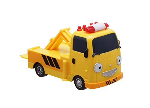 - ICONIX The Little Bus Tayo- TOTO, Pull-back Motor Toy