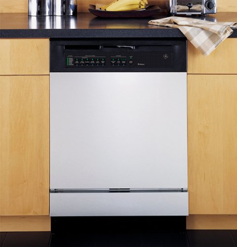 White Custom Dishwasher Cover Panel