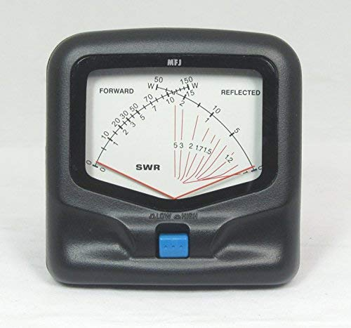 MFJ-842 UHF/VHF 150 W Cross Needle SWR/Watt Meter