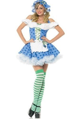 Blueberry Muffin Adult Costume (Blueberry Muffin Girl - Large - Dress Size 12-14)