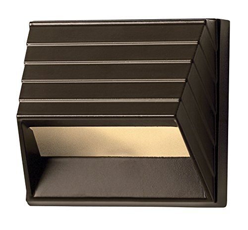Hinkley Lighting  1524BZ-LED Outdoor Deck/Step Lamp, Bronze Finish