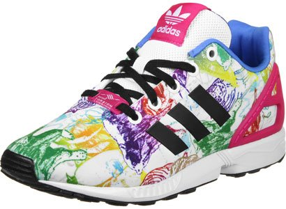 Zapatillas Hombre Blanco Running Adidas Flux ZX zHwBqH0A
