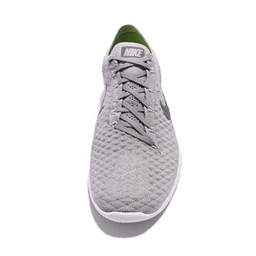 Nike Free Tr Flyknit 2 Scarpe Da Donna Atmosfera Grigia / Gunsmoke-bianco Che Funziona
