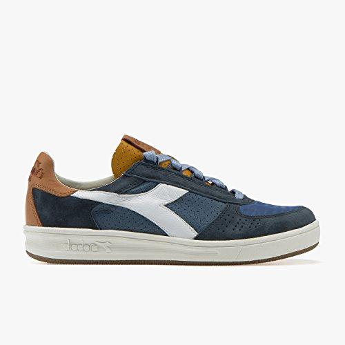Diadora Heritage Uomo, B. Elite ITA 2, Nylon, Sneakers, Blu