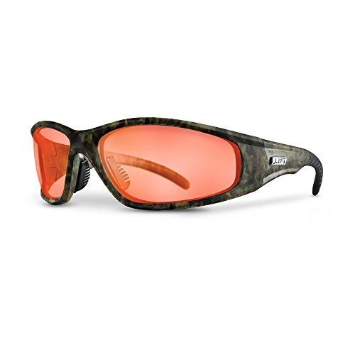 LIFT Safety Strobe Safety Glasses (Camo Frame/Amber ()
