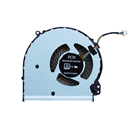 HK-part Replacement Fan for HP 17-X 17-Y Series Laptop Cpu Fan Cooler P/N 856682-001 856681-001